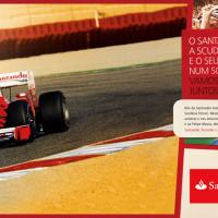 Painel Santander Formula 1-F