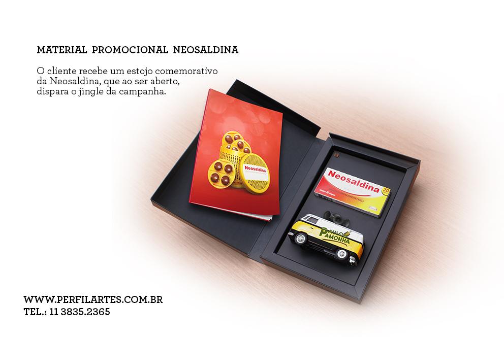 material promocional neosaldina